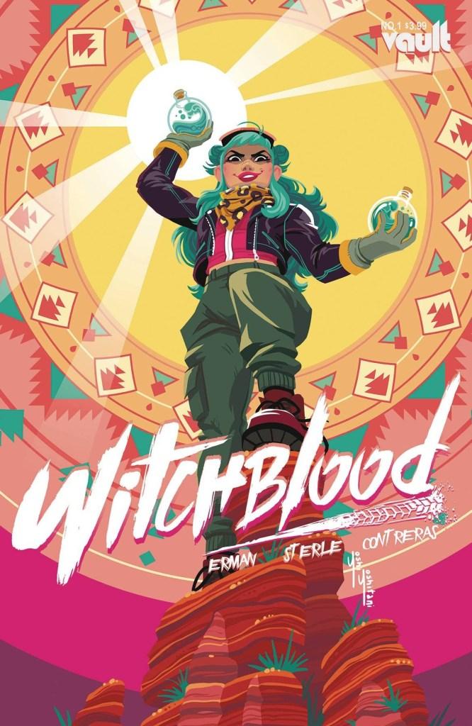 Yoshi Yoshitani Witchblood #1 variant