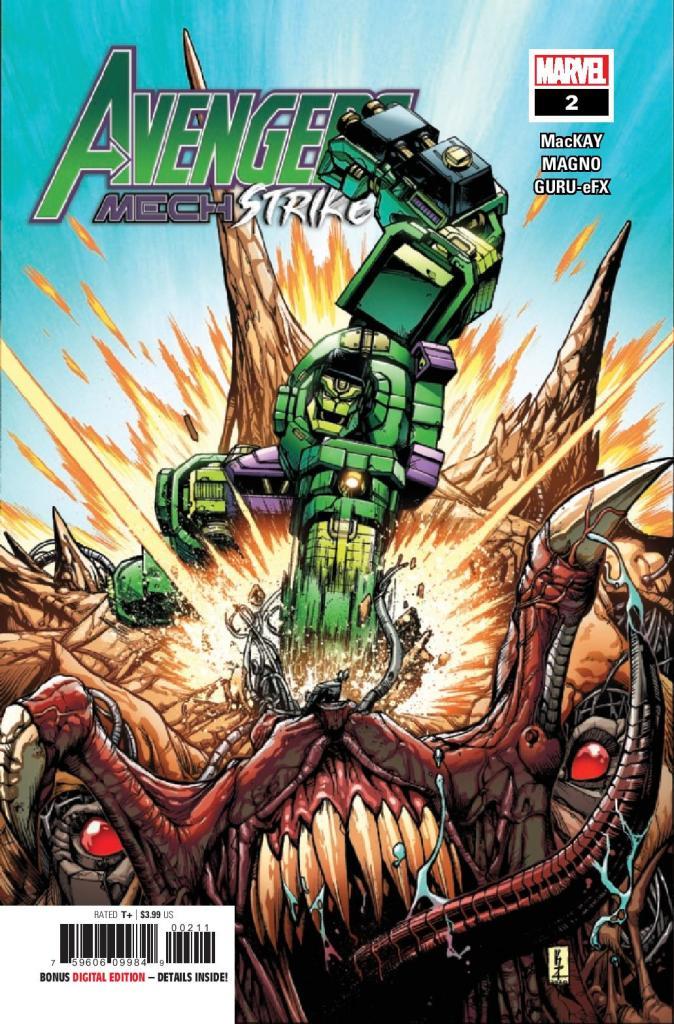 Avengers: Mech Strike #2 (of 5)
