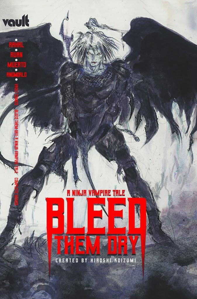 Bleed Them Dry Yoshitaka Amano cover