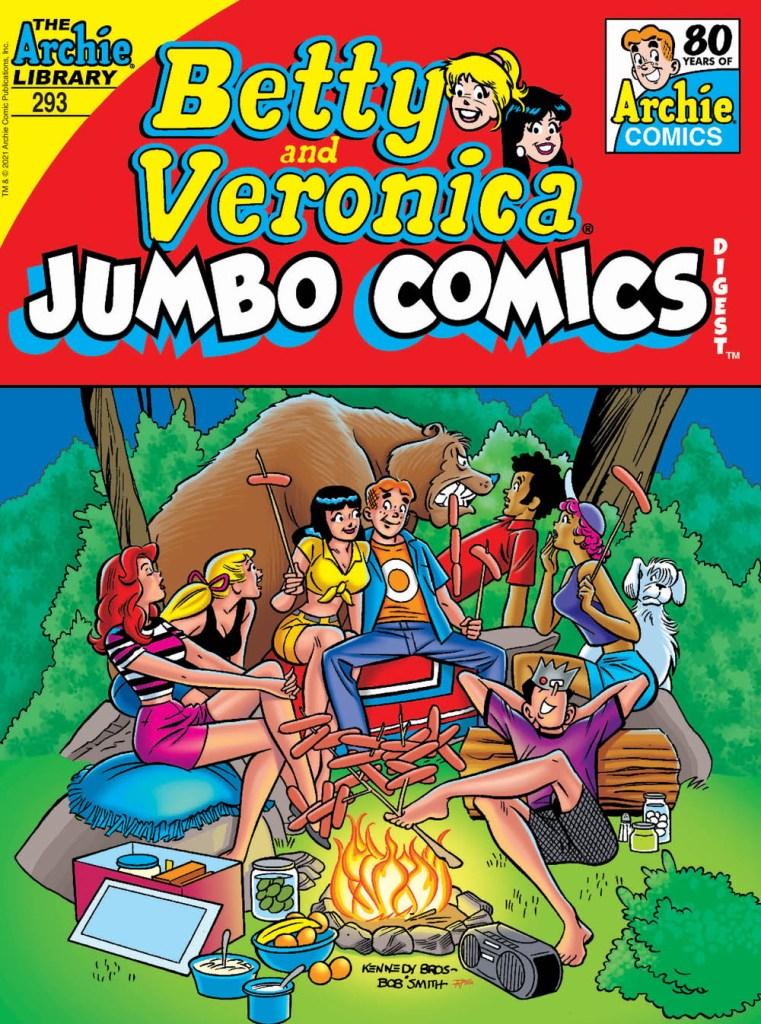 BETTY & VERONICA JUMBO COMICS DIGEST #293