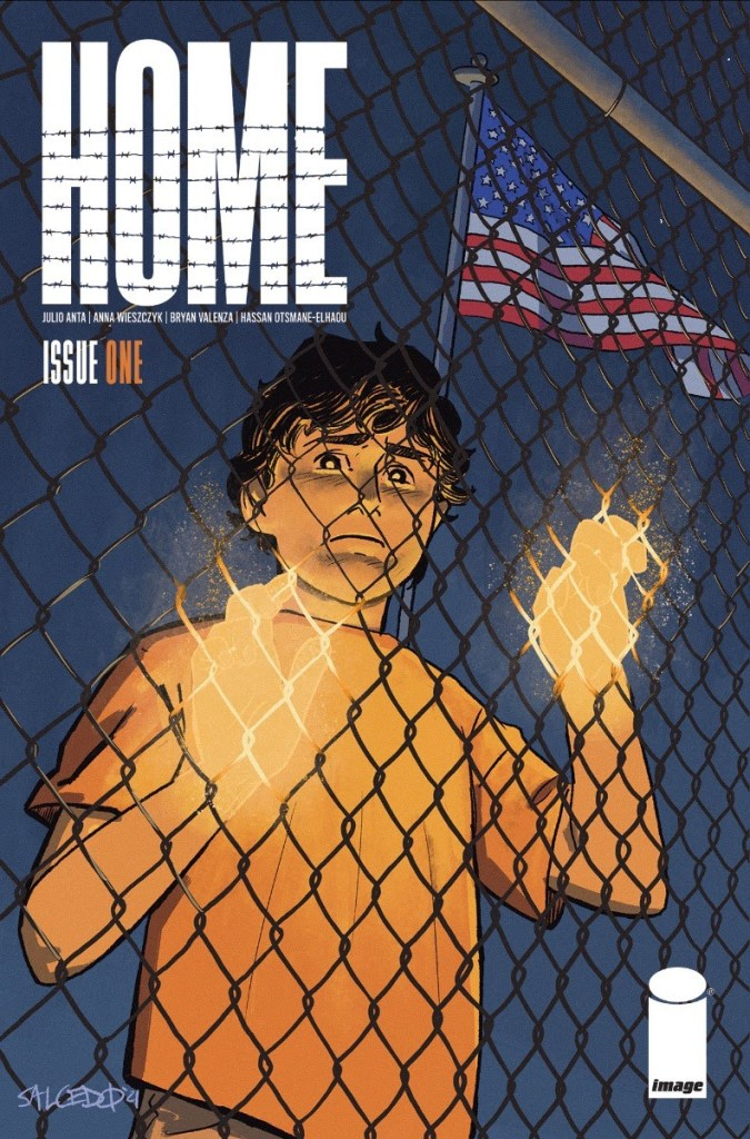 Home #1 Cover B by Jacoby Salcedo