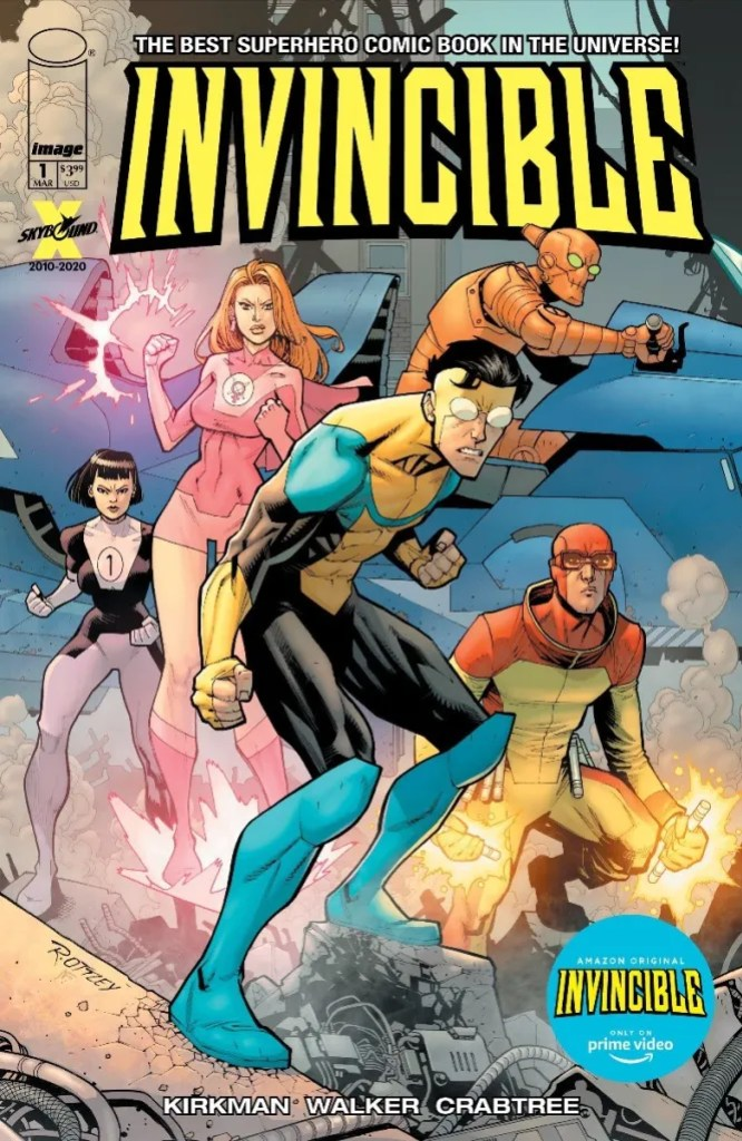 Invincible #1 TV series variant