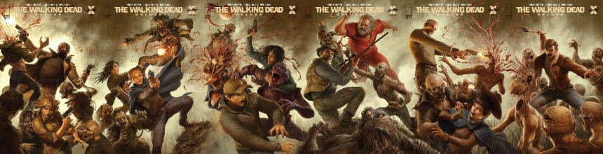 The Walking Dead #13 to #18
