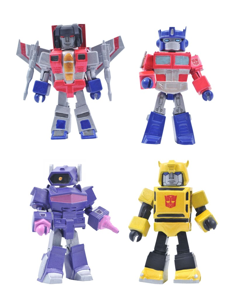 Transformers G1 Minimates Series 1 Box Set