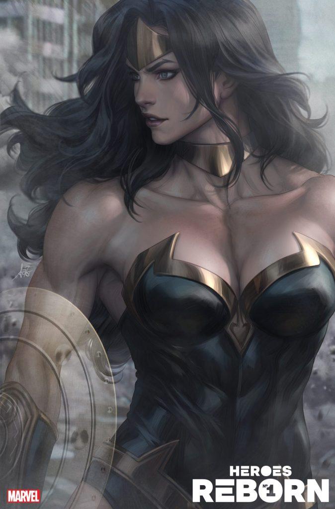 """Heroes #1 Stanley """"Artgerm"""" Lau Power Princess variant"""