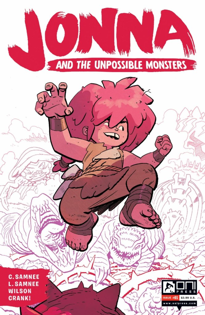 Jonna and the Unpossible Monsters #1 2nd printing