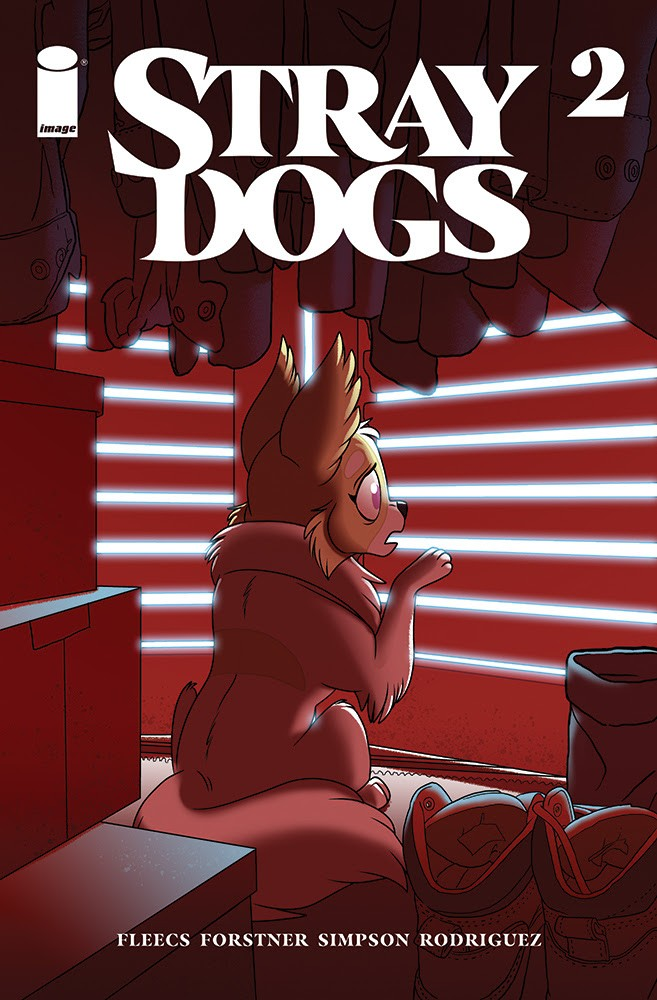 Stray Dogs #2, second printing