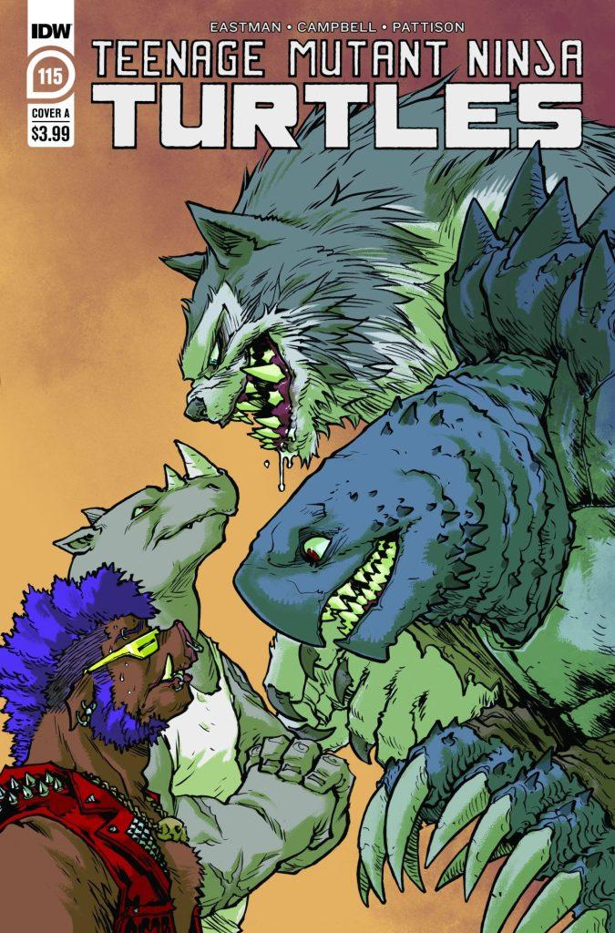 Teenage Mutant Ninja Turtles #115