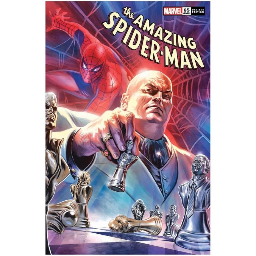 Amazing Spider-Man #65 Massafera Variant