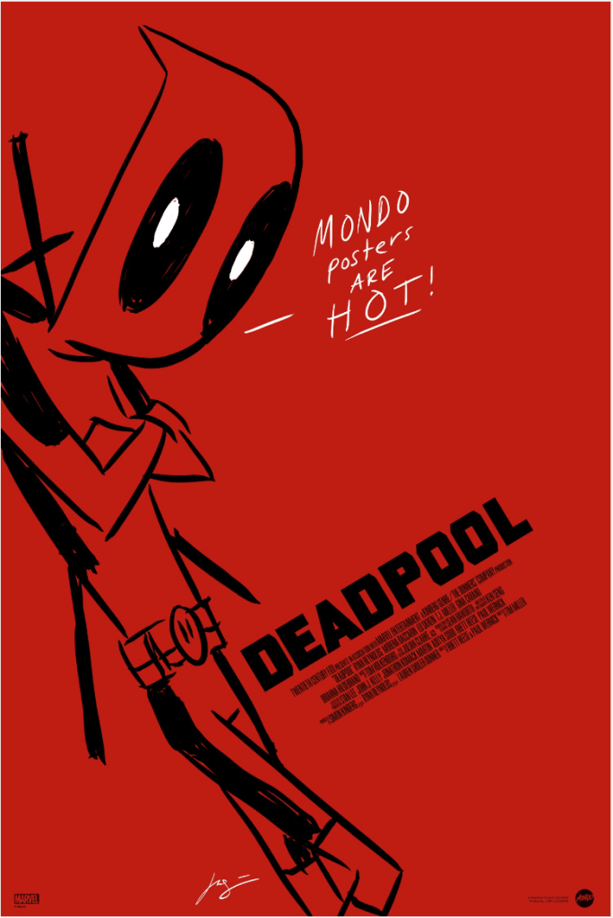 Justin Harder Deadpool poster