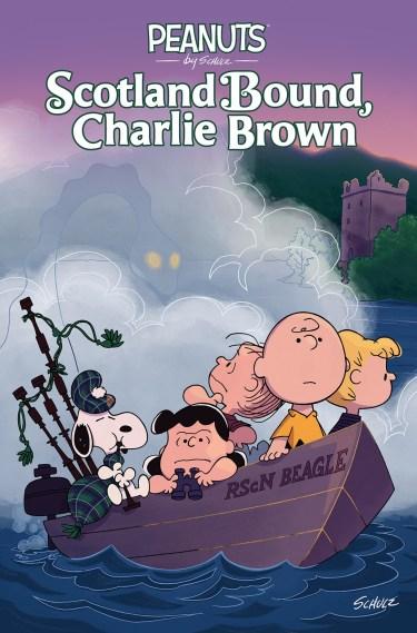 Peanuts: Scotland Bound, Charlie Bound