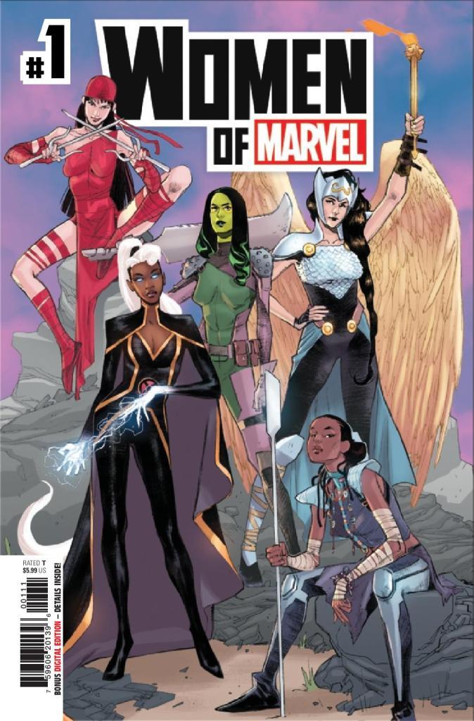 Women of Marvel #1