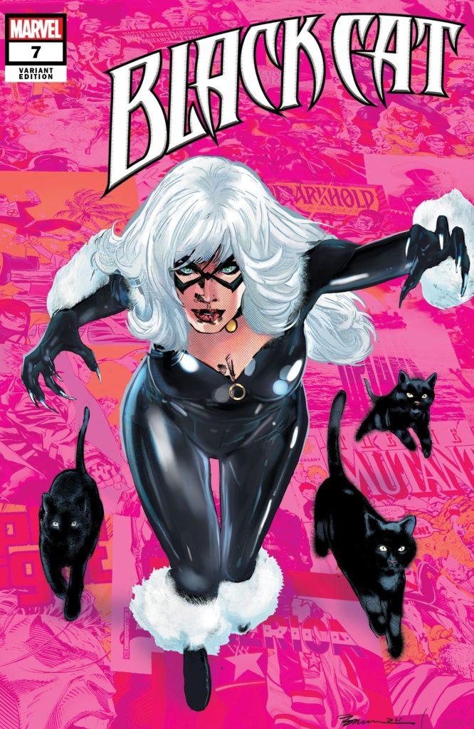 Black Cat #7 Pride Month Variant Cover