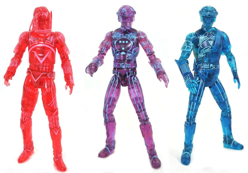 San Diego 2021 Tron Retro Deluxe Action Figure Box Set