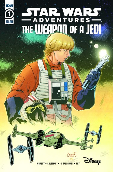 Star Wars Adventures: Weapons of A Jedi