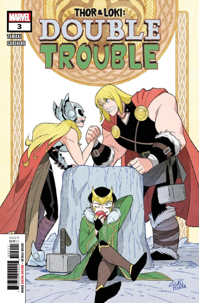 Thor and Loki: Double Trouble #3 (of 5)