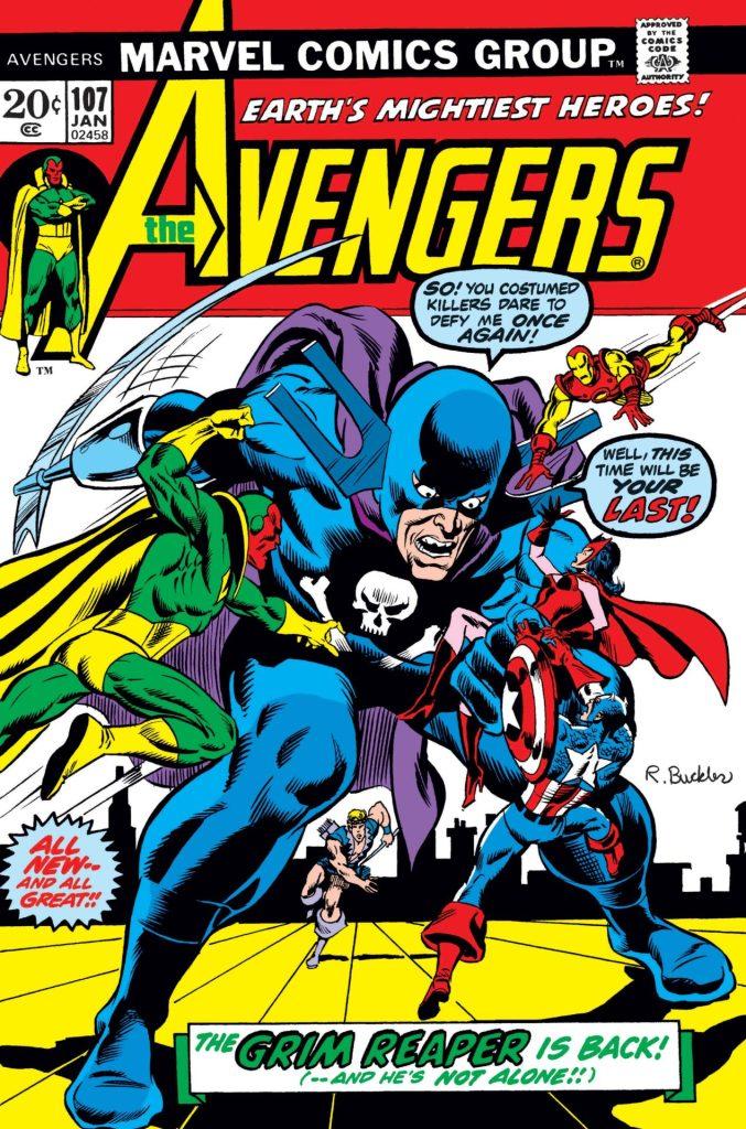 Avengers #107