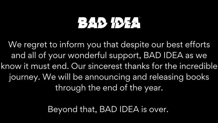 Bad Idea over