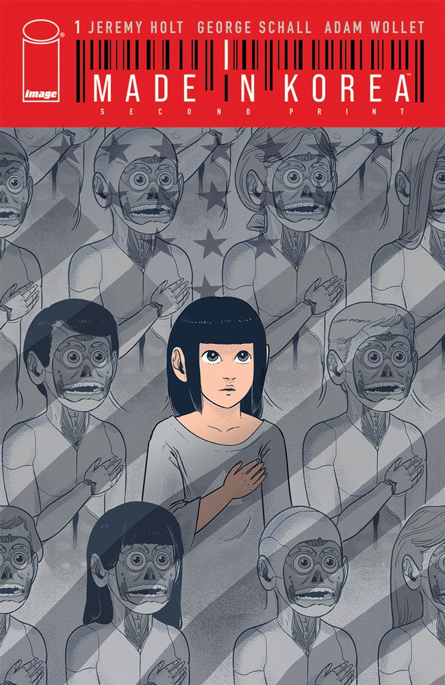 Made in Korea #1, second printing