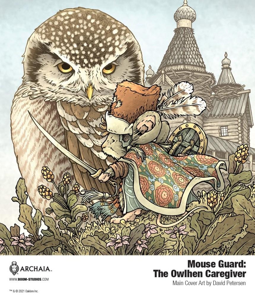 Mouse Guard: The Owlhen Caregiver