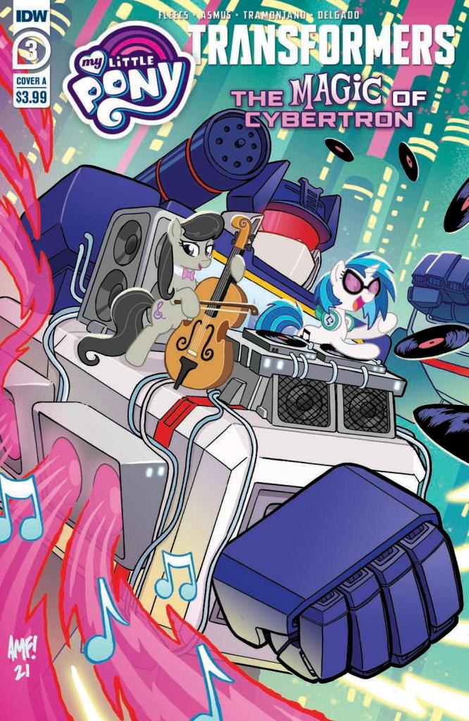 My Little Pony/Transformers: The Magic of Cybertron #3 (of 4)