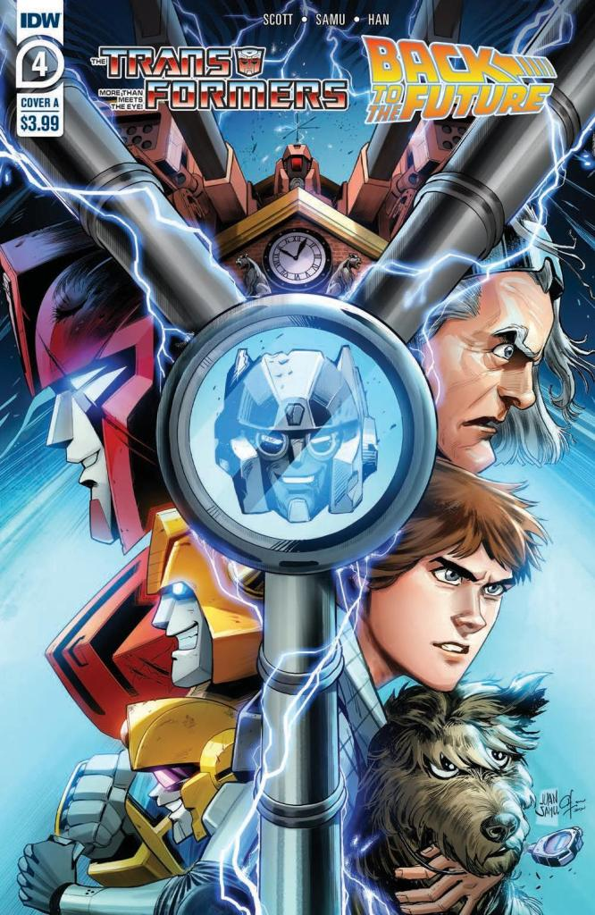 Transformers/Back to the Future #4 (of 4)