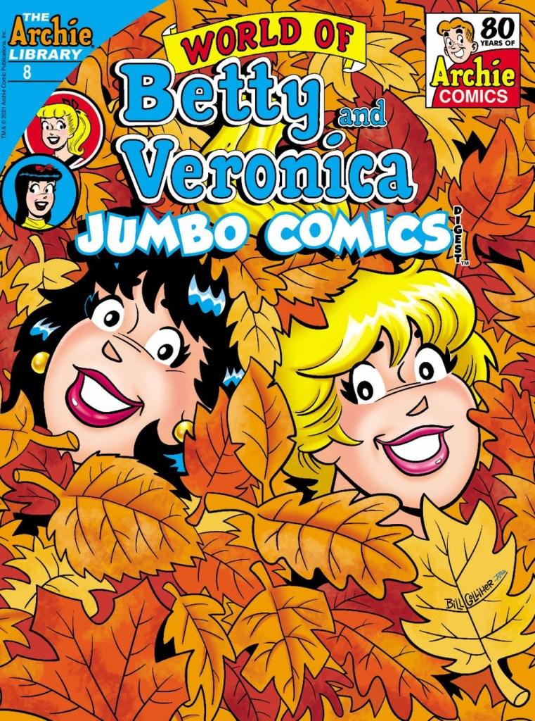 WORLD OF BETTY & VERONICA JUMBO COMICS DIGEST #8