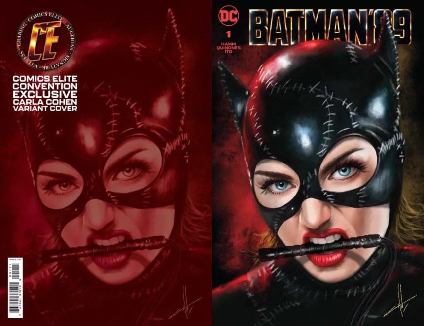 Batman '89 #1 variant cover by Carla Cohen, available from Comics Elite