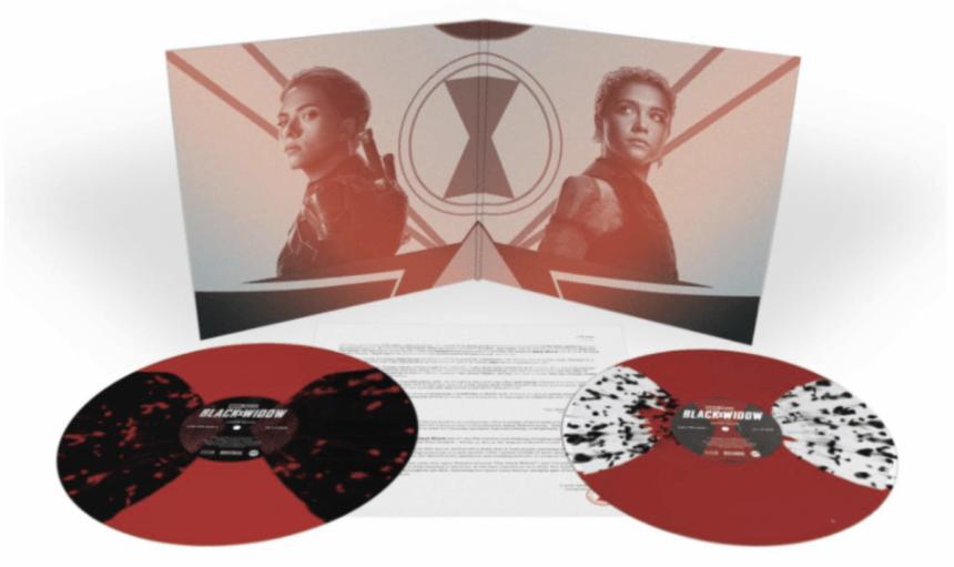 MARVEL STUDIOS' BLACK WIDOW - Original Motion Picture Soundtrack 2XLP