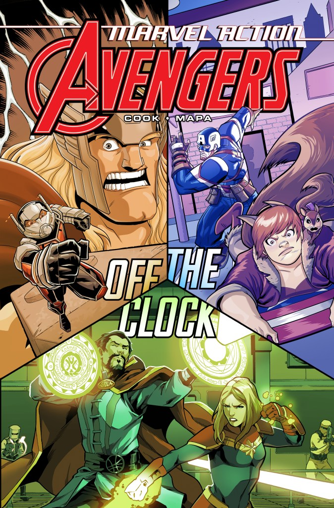 Marvel Action: Avengers - Off the Clock