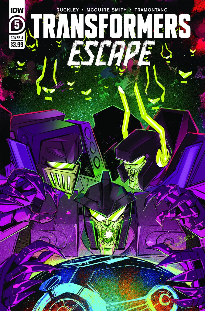 Transformers: Escape #5 (of 5)