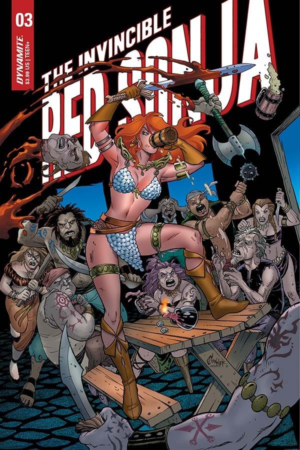 Invincible Red Sonja #3