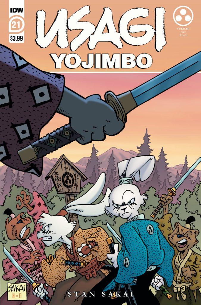 Usagi Yojimbo #21