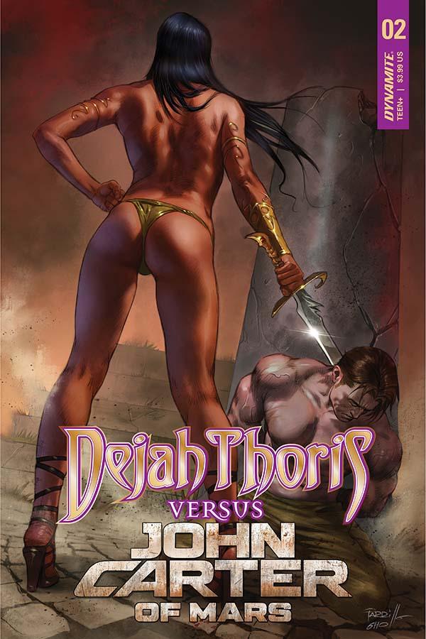 Dejah Thoris vs John Carter of Mars #2
