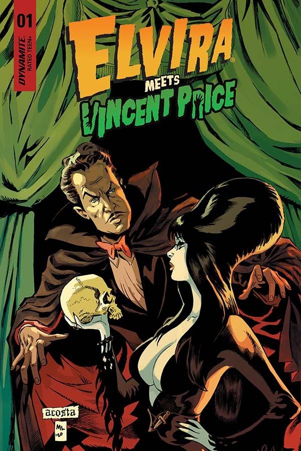 Elvira Meets Vincent Price #1