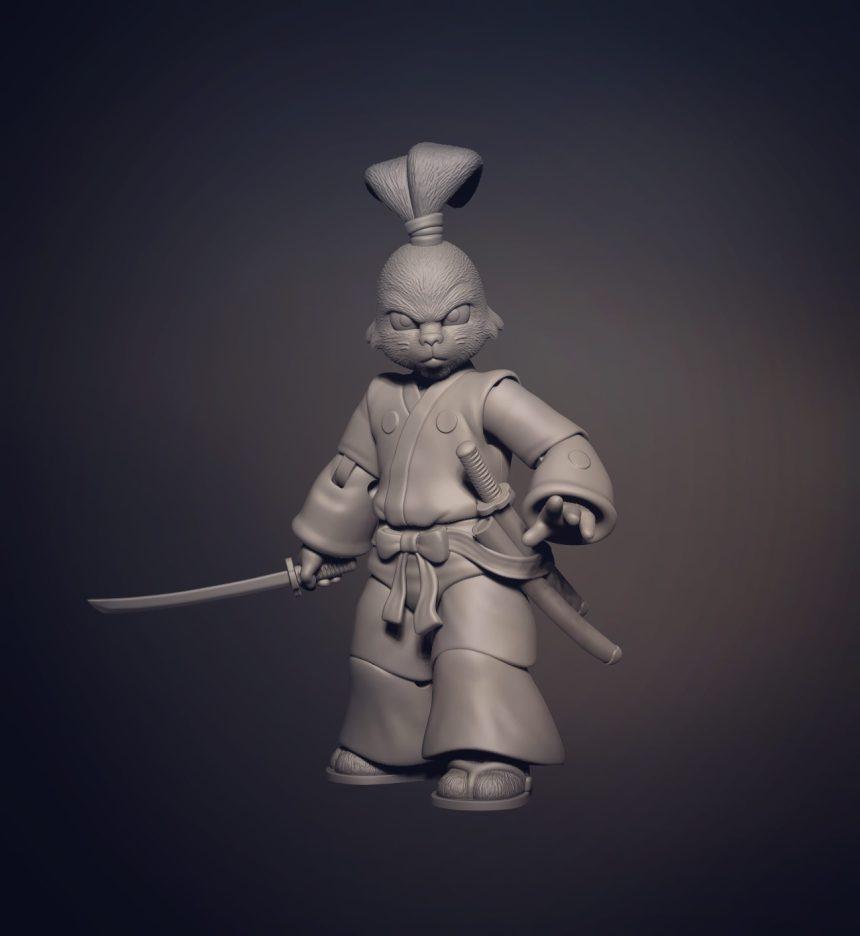 Usagi Yojimbo TMNT