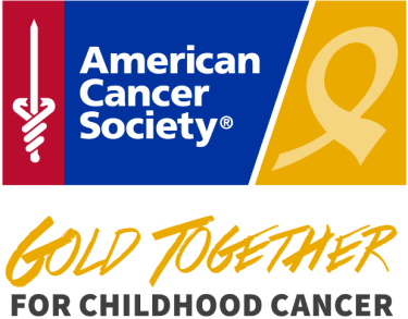 American Cancer Society Gold Together for Childhood Cancer