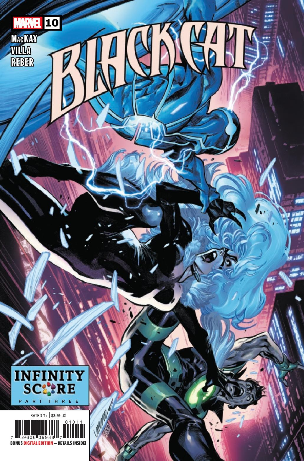 Preview: Black Cat #10 - Graphic Policy