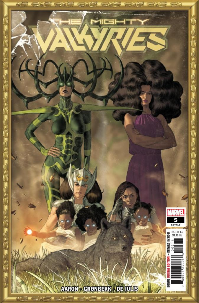 The Mighty Valkyries #5 (of 5)