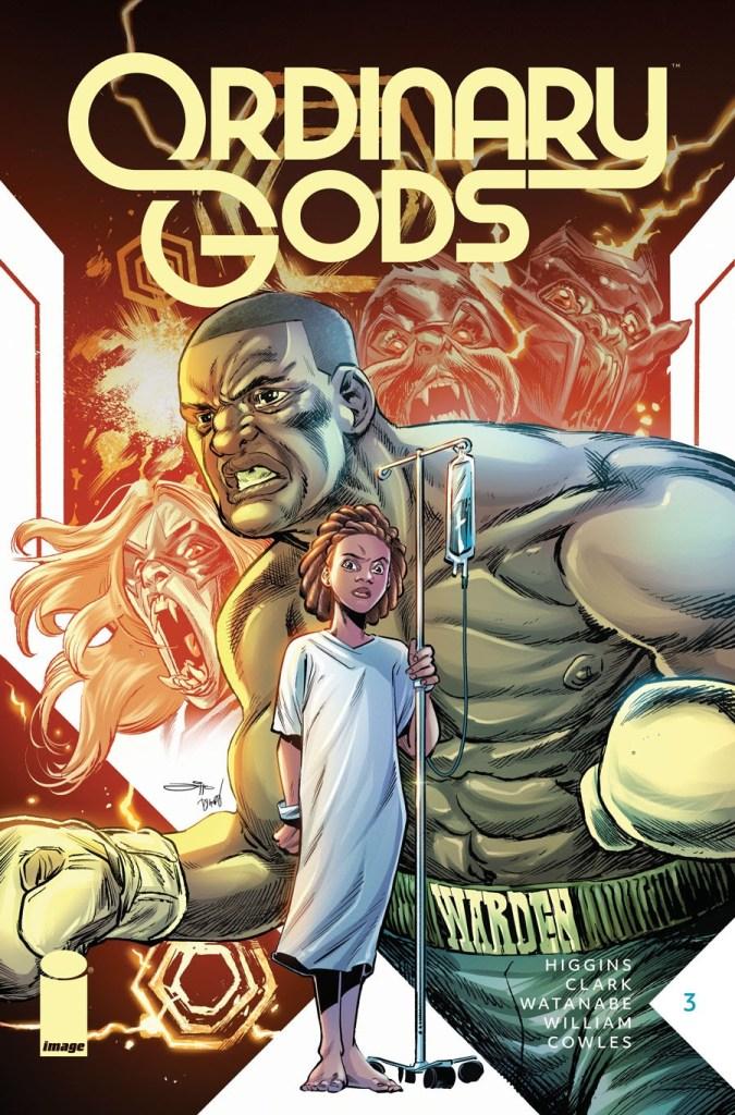Ordinary Gods #3, second printing