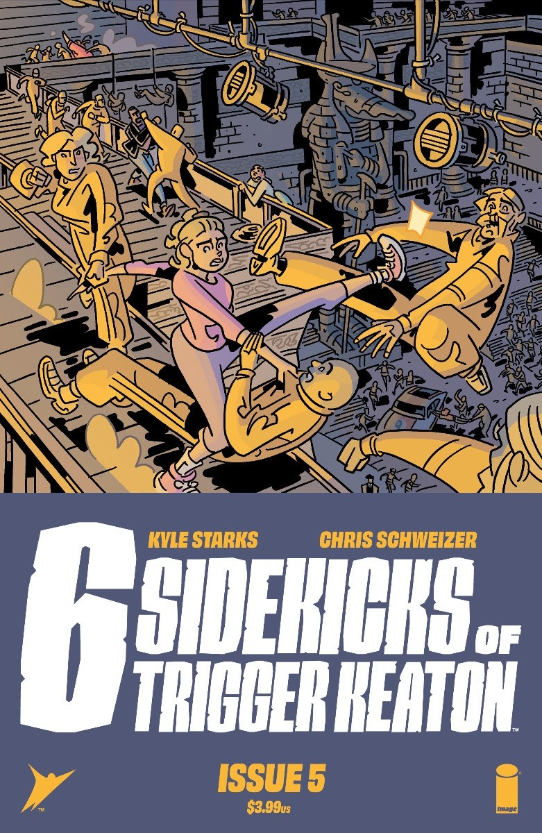 Who Stunts on the Stuntmen in The Six Sidekicks of Trigger Keaton #5? - Graphic Policy