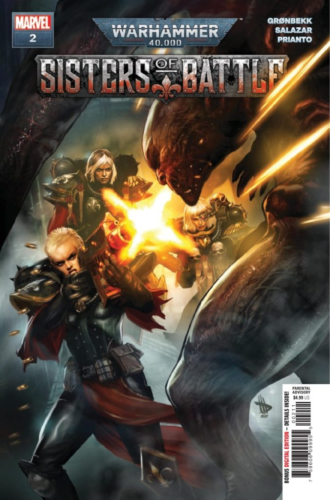 Warhammer 40,000: Sisters of Battle #2 (of 5)