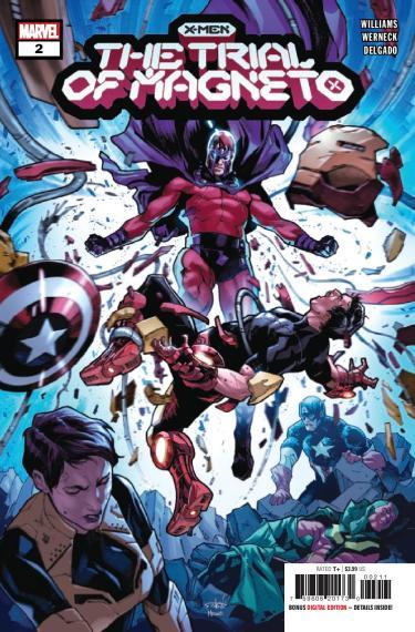 X-Men: Trial of Magneto #2