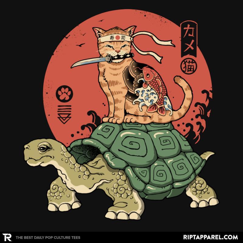 Catana on Turtle