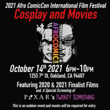 Afro ComicCon's Sci-fi, Horror, and Animation Film Festival