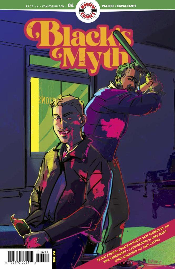 BLACK'S MYTH #4
