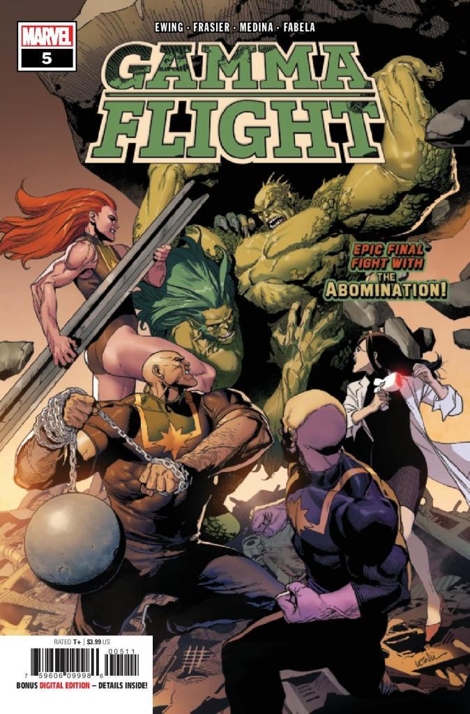 Gamma Flight #5 (of 5)