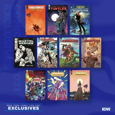 NYCC IDW Publishing Exclusives