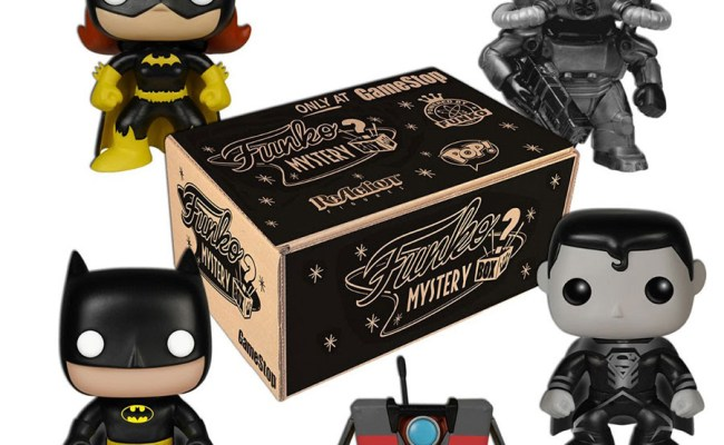 Gamestop Black Friday Exclusive Funko Mystery Box