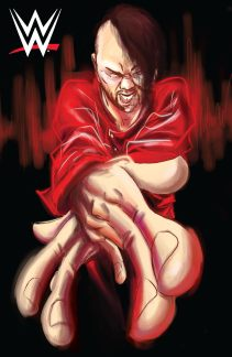 WWE #2-Now Cover (Shinsuke Nakamura)